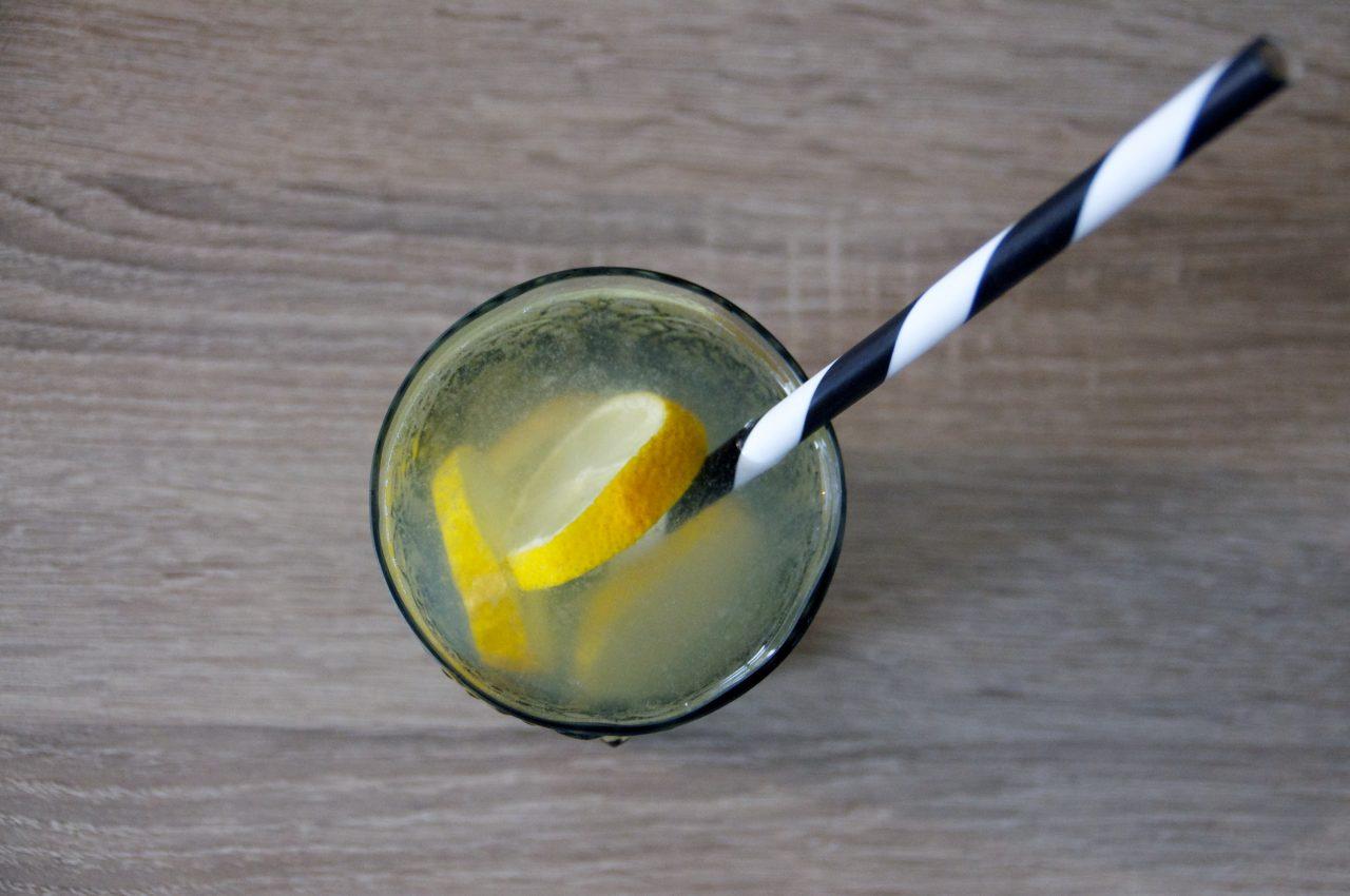 glas citroenwater